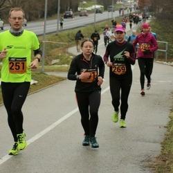 Tartu Novembrijooks - Taavi Dovnar (251), Maia Boltovsky (269)