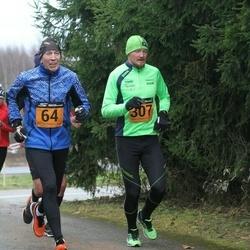 Tartu Novembrijooks - Aavo Hõbe (64), Maik Tukk (307)