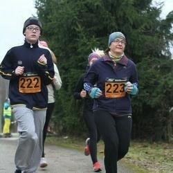 Tartu Novembrijooks - Mihkel Mart Liim (222), Piret Liim (223)