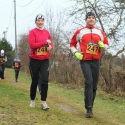 Tartu Novembrijooks - Ain Lubi (247), Sille Vaiksaar (248)