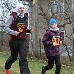 Tartu Novembrijooks - Lisette Lein (199), Kristel Jaska (200)