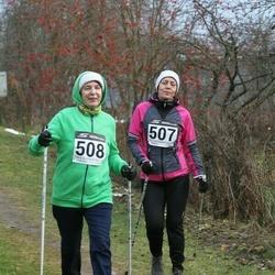 Tartu Novembrijooks - Anneli Lipand (507), Inge Roos (508)