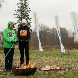 Tartu Novembrijooks - Candela Roos (59), Inge Roos (508)