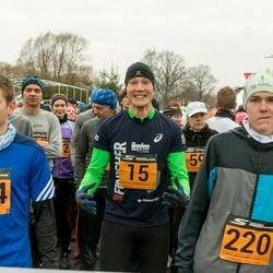 Tartu Novembrijooks - Kristjan Lusikas (15), Mart Leo Ruus (220), Jan Müür (294)
