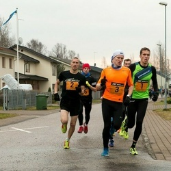 Tartu Novembrijooks - Rauno Laumets (1), Vjatšeslav Košelev (2), Franko Reinhold (3)