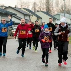 Tartu Novembrijooks - Katri Ahtijäinen (172), Liis Ott (173)