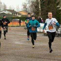 Tartu Novembrijooks - Argo Paavel (226), Märt Kivila (279), Krister Kasemaa (319)