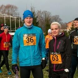 Tartu Novembrijooks - Renno Rehtla (36), Kätlin Markvart (63), Meelis Daaniel (207)