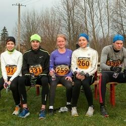 Tartu Novembrijooks - Õnnela Skobiej (87), Sigrid Raud (259), Keelia Hallap (260), Andrei Provorkov (331), Margus Porkveli (332)