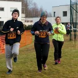 Tartu Novembrijooks - Naima Raiv-Altosaar (72), Mihkel Mart Liim (222), Piret Liim (223)