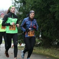 Tartu Novembrijooks - Triinu Bergmann (267), Siiri Kaaver (270)