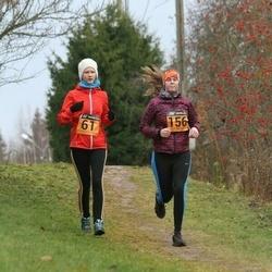 Tartu Novembrijooks - Kelli Randmäe (61), Hele-Mai Luik (156)