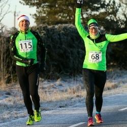 Jõgeva Jõulujooks - Tiina Säälik (68), Martin Siimer (115)