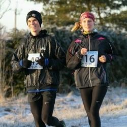 Jõgeva Jõulujooks - Liisbet Kallis (16), Sander Õunapuu (49)