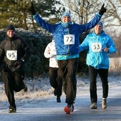 Jõgeva Jõulujooks - Hennik Penek (53), Marko Torm (72), Karl Õunapuu (95)