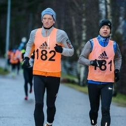 14. Vana-aasta maraton - Arles Taal (181), Kaupo Tiislär (182)