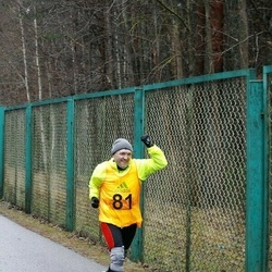 14. Vana-aasta maraton - Ernestas Žentelis (81)