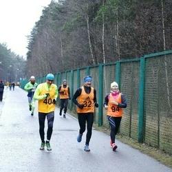 14. Vana-aasta maraton - Jaanus Kaur (32), Leho Rennit (40), Marika Roopärg (94)