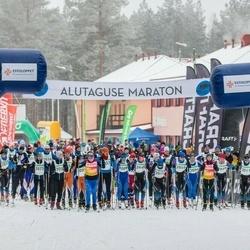 19. Alutaguse Maraton - Johanna Ruljand (2006), Anet Sirvel (2009), Ragnar Krauvärk (2012), Peep Nurm (2036), Pia Kivil (2048), Taavi Pärnamets (2051), Mario Kivil (2059), Maria Mikhejeva (2073)