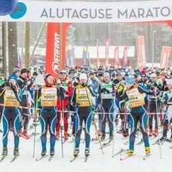 19. Alutaguse Maraton - Sulev Muru (1001), Indrek Pak (1002), Ulvar Pavlov (1003), Arvo Raja (1004)