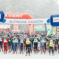 19. Alutaguse Maraton - Martti Himma (1), Eno Vahtra (3), Taavi Lehemaa (6), Allar Soo (7), Raivo Sala (9), Sander Linnus (10)