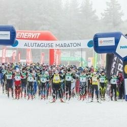 19. Alutaguse Maraton - Martti Himma (1), Eno Vahtra (3), Taavi Lehemaa (6), Allar Soo (7), Raivo Sala (9), Sander Linnus (10), Rauno Pikkor (14), Andres Juursalu (15)