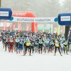 19. Alutaguse Maraton - Martti Himma (1), Eno Vahtra (3), Allar Soo (7), Juri Širokov (8), Sander Linnus (10), Rauno Pikkor (14), Tarmo Neemela (30)