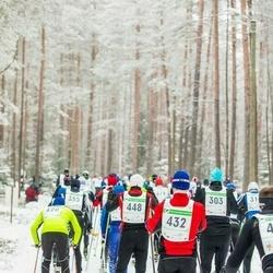 19. Alutaguse Maraton - Rivo Tolli (303), Ülar Lehiste (432), Valde Viiding (448)
