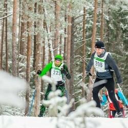 19. Alutaguse Maraton - Sven Põldme (208), Mati Koppel (225)