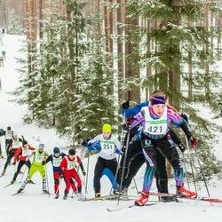 19. Alutaguse Maraton - Margus Kuusk (165), Janek Trepp (181), Karol Keskküla (200), Braian Jullinen (251), Helin Müüdla (421)