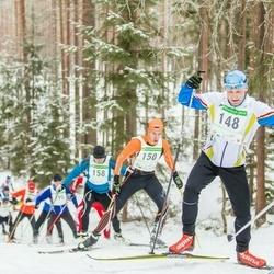 19. Alutaguse Maraton - Rein Lehtmets (148), Leho Laja (150), Olivar Kits (158)