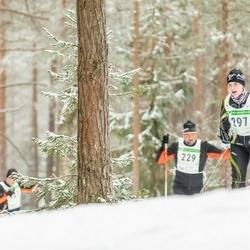 19. Alutaguse Maraton - Bruno Tammaru (229), Merje Luik (297)