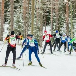 19. Alutaguse Maraton - Tavo Uuetalu (259), Mati Mõtte (311), Aare Huik (418), Lauri Antalainen (470)