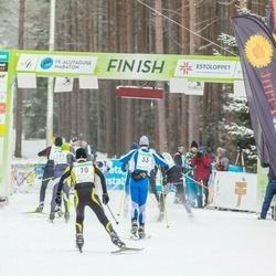 19. Alutaguse Maraton - Teet Jagomägi (33), Ain Kilk (70)