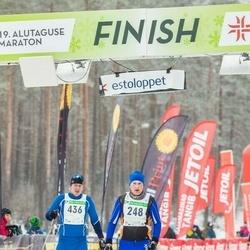 19. Alutaguse Maraton - Marti Pungits (248), Gert Noormets (436)