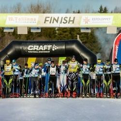 19. Tallinna Suusamaraton - Eno Vahtra (2), Raivo Sala (7), Rauno Pikkor (8), Timo Simonlatser (320)