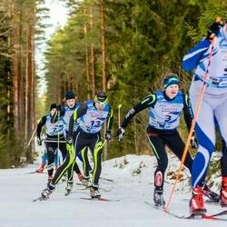 19. Tallinna Suusamaraton - Sander Linnus (3), Meelis Rebane (13)