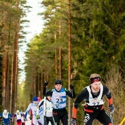 19. Tallinna Suusamaraton - Kaidar Hussar (23), Tanel Veski (27)