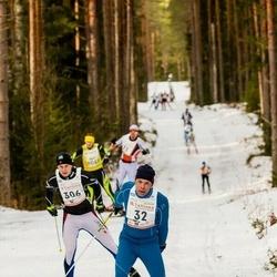 19. Tallinna Suusamaraton - Toomas Laur (32), Tanel Levkoi (306)