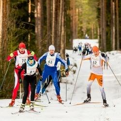 19. Tallinna Suusamaraton - Mairo Mändla (62), Jevgeni Voloshin (63)