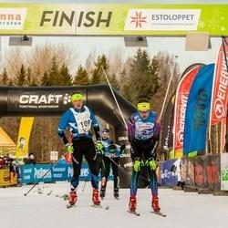 19. Tallinna Suusamaraton - Eno Vahtra (2), Juri Shirokov (109)