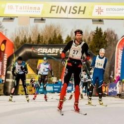 19. Tallinna Suusamaraton - Tanel Veski (27), Robin Möll (286)