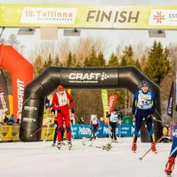 19. Tallinna Suusamaraton - Peep Kivil (14), Aivar Ridamäe (19), Artur Rauk (52)