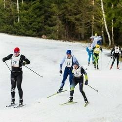 19. Tallinna Suusamaraton - Kaupo Jalasto (66), Tanel Uudeberg (79), Assar Tops (83)
