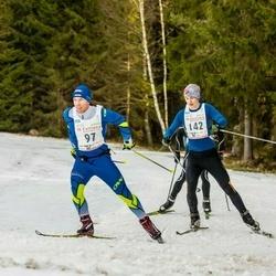 19. Tallinna Suusamaraton - Helvis Trääder (97), Hannes Poolamets (142)