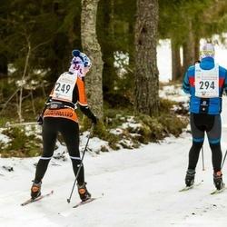 19. Tallinna Suusamaraton - Katrin Lang (249), Andres Ehavee (294)