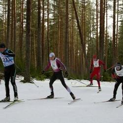 19. Tallinna Suusamaraton - Kaidar Hussar (23), Tarmo Neemela (26), Oliver Mändla (41), Artur Rauk (52)