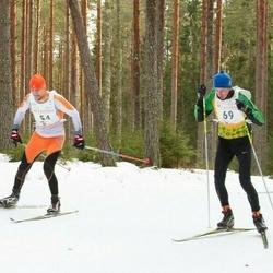 19. Tallinna Suusamaraton - Tarmo Mändla (54), Janek Resev (69)