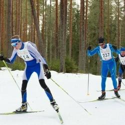 19. Tallinna Suusamaraton - Christopher Järve (114), Marko Pruus (237)