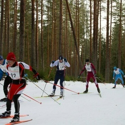 19. Tallinna Suusamaraton - Ene Aigro (92), Leons Seškens (108), Margus Lepp (145)